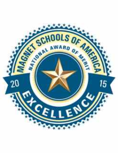 2015 Magnet Schools of America National Award of Merit